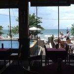 Pelangi Hotel, restaurant view.... nice!