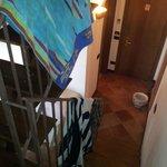 Treppe nach unten, Eingangsbereich