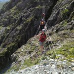Via Ferrata with Mobile Adventures at Honister Slate Mine