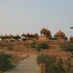 View of Vyas Chhattri