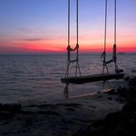 sunset at Pano Resort