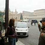 At St. Peters square