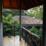 Balcony Overlooking Lagoon