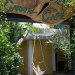 Entrance of Naturellement Garden Cafe