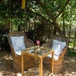 Outer garden table