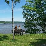 La beauté du fleuve St-Laurent, Parc de la Marina-de-la-Chaudière