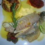 filet de daurade à l'huile d'olive des Baux de Provence