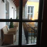 Double room facing courtyard