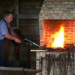 Our blacksmith at work