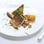 Filet of Adriatic sea bass
