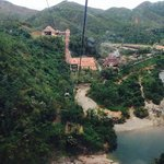 ba na hill cable car view