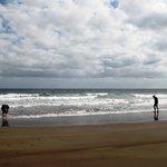 the beach, la spiaggia ai piedi di Tabayesco