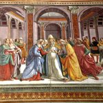 El matrimonio de Maria. Ghirlandaio