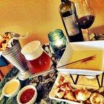 Yup... Frites and Fondue! Winter menu items!
