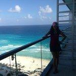 Vista espectacular de Cancún.