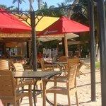 Zona cercana a la playa y la pileta