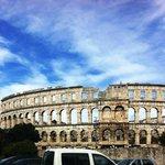 Coliseu de Pula - Croácia