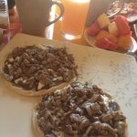 Memelitas con Tasajo, included in comp breakfast