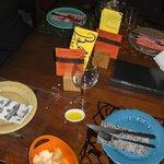 A decoração da N/mesa