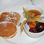 Pancakes at breakfast!