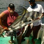 70 Pounds of Roosterfish, December 2013