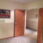 Terrible corridor fourth floor