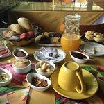 Café da manhã sem igual!