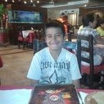 mi hijo en los Chilaquiles