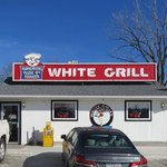 White Grill entrance