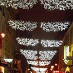 Rue Cadet Christmas lights