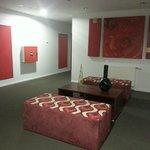 lounge on the floor