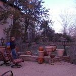 La Posada Sunken Garden 1