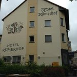 The excellent Hotel Roemerhof in Bingen