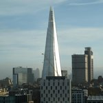 View of The Shard from balcony!