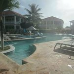 The pool at Belizean Shores