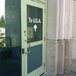 Door to the USA