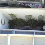 1:a och 2:a våningen med utsikt mot en vägg