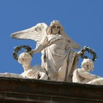 Фигуры на крыше