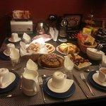 La nostra fantastica colazione
