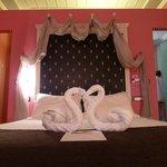 Nuestra habitacion, cama inmejorable