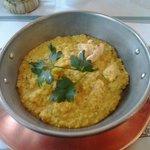 cous cous al pollo e curry
