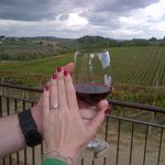 Proposal at Casa Emma during Tuscan Wine Tour