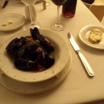 Mussels at the French Resto - SO GOOD!