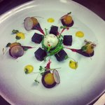 Beetroot salad & goats cheese