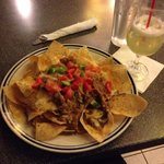 Tasty plate of nachos!