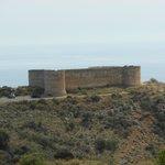 O Castelo Turco em Aptera.