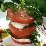 House Favorite: Mozarella & Tomato Tower