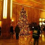 Albero di Natale nella lobby