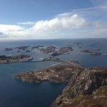 Utsikt over Hennkngsvær