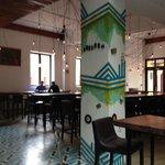 Lobby restaurant/bar area at Tantalo